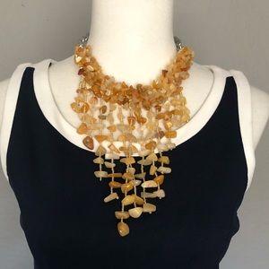 Jewelry - Semi precious stones statement necklace